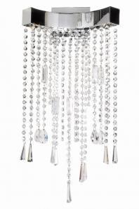 Crystal Sensation LED 3-Light Wall Sconce- E20700-20PC