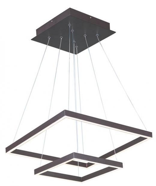Quad LED 2-Tier Pendant-E22405-BZ