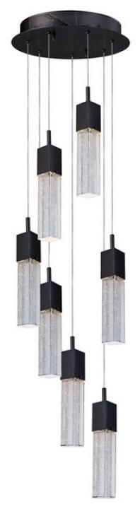 Fizz III 7-Light LED Pendant-E22767-89BZ