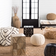Floor Pillows and Poufs