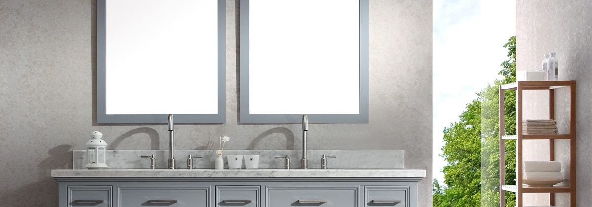 Stylish Contemporary Bathrooms with Fresca Faucets and Vanities