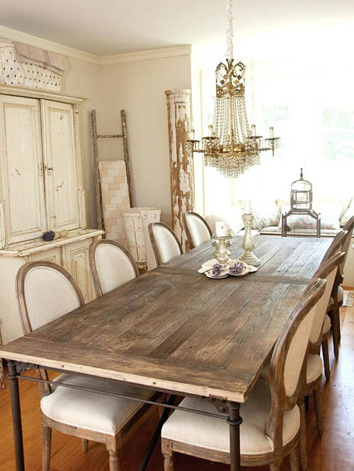 kitchen-dining-table-french-country-farm-rustic
