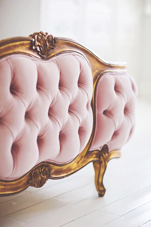 velvet-blush-millennial-pink-tufted-bed-sofa-gold-french-versailles