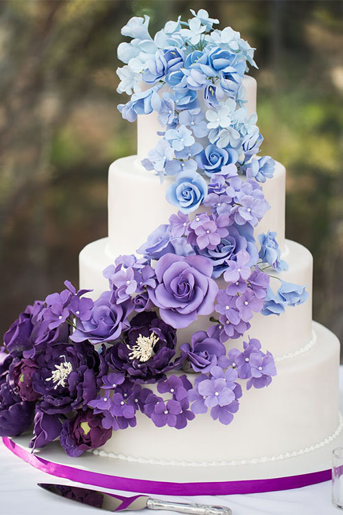 top-wedding-cakes-purple-and-blue-on-instagram-best-wedding