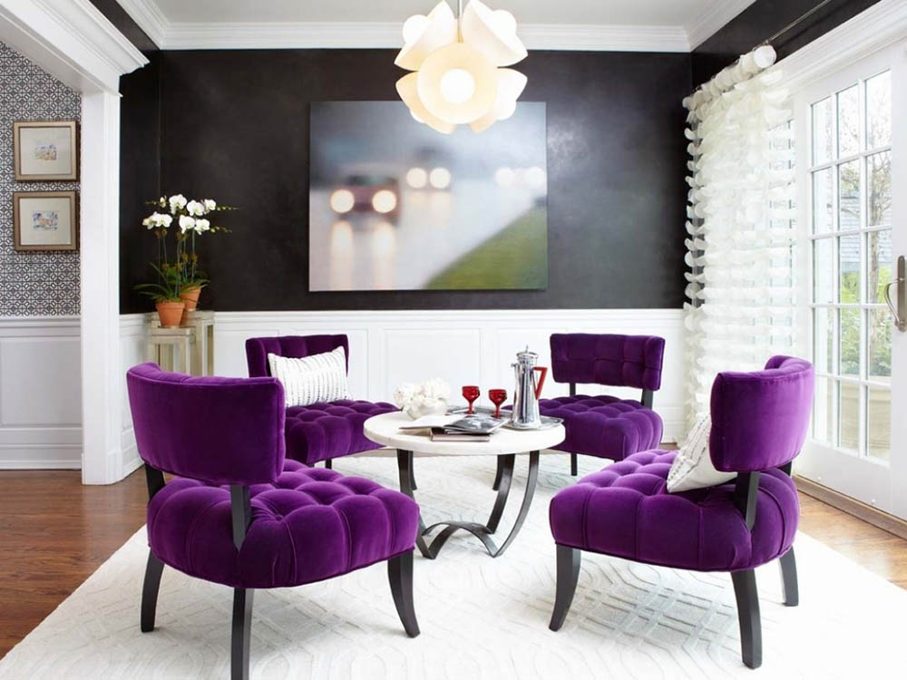 purple-velvet-dining-room-chairs