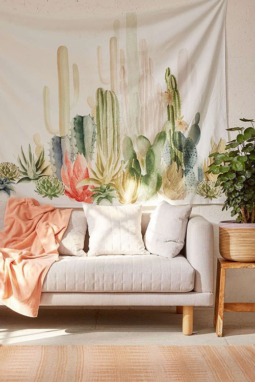 succulent-tapestry-wall-home-decor