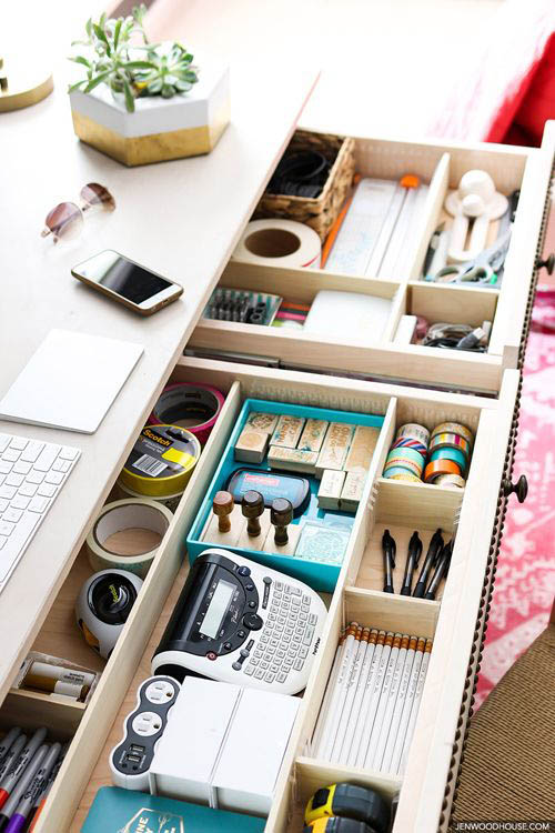 home-office-organization-productive-stationary