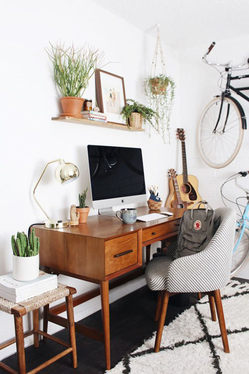 home-office-productive-work-space-green-indoor-plant-lighting