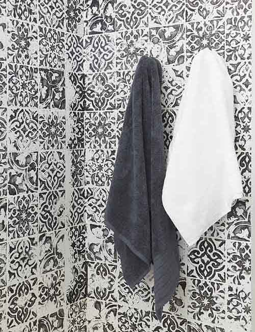 Stamped-painting-tiles-black-and-white-bathroom