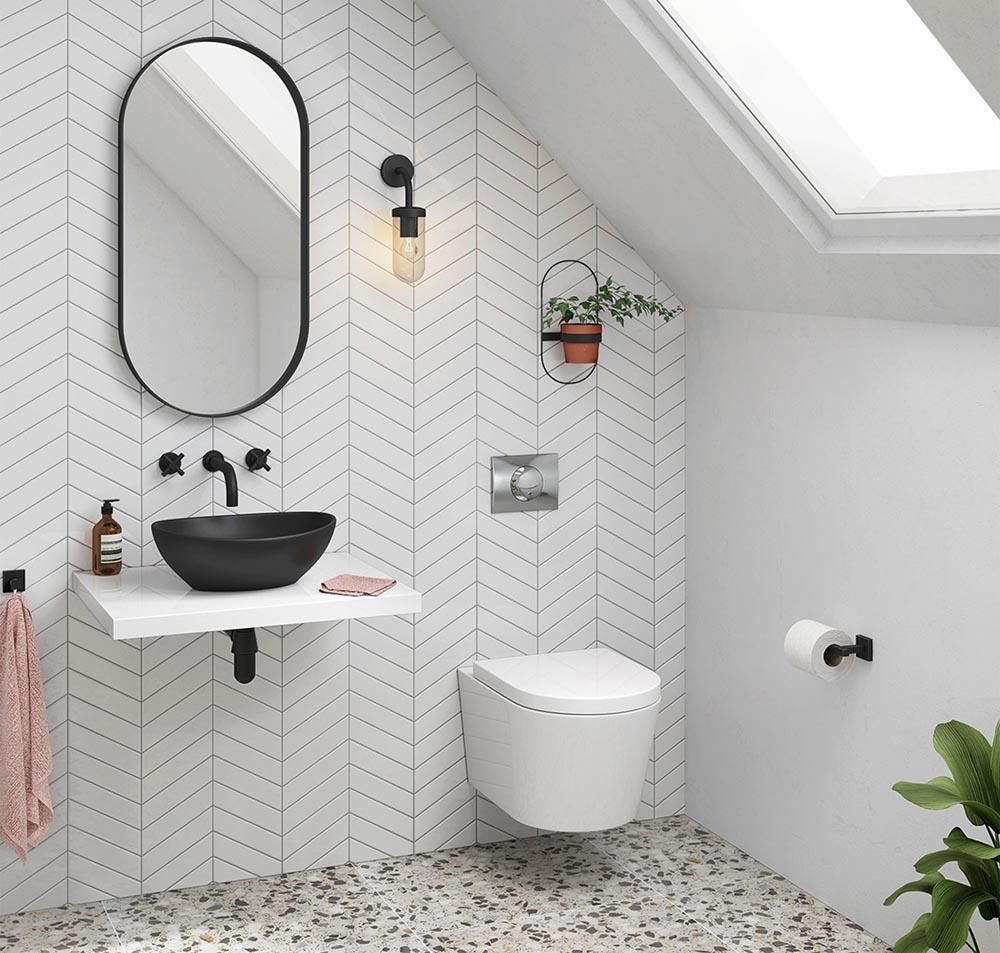 floating-vanities-white-black-fixture-bathroom