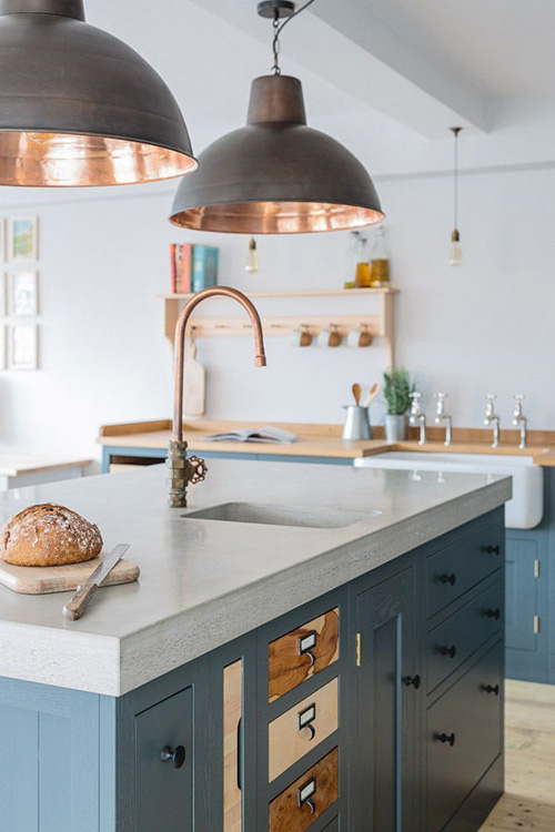 So Many Ways To Go Green Even The Kitchen Island: 5 Biggest Home Decor Lighting Trends For 2019