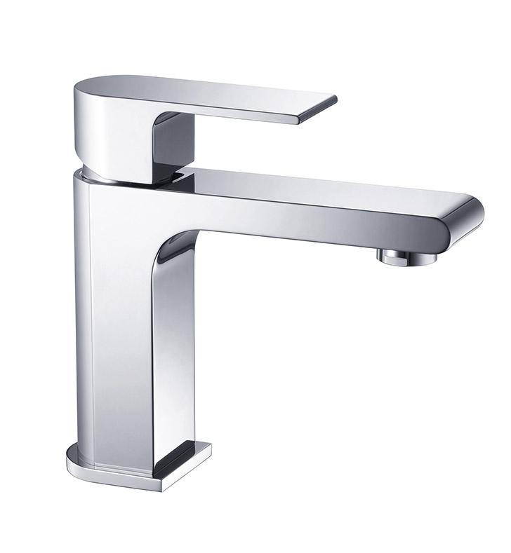 Fresca FFT9151CH Allaro Single Hole Mount Bathroom Faucet in Chrome