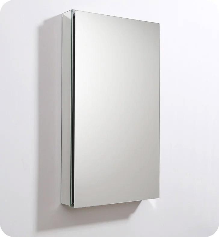 "Fresca FMC8059 20"" Wide x 36"" Tall Bathroom Medicine Cabinet with Mirrors"
