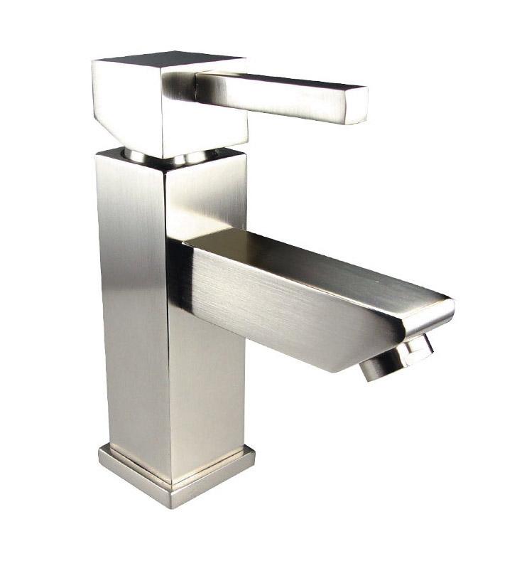 Fresca FFT1030BN Versa Single Hole Bathroom Faucet in Brushed Nickel