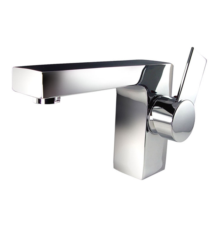 Fresca FFT1053CH Isarus Single Hole Chrome Bathroom Faucet