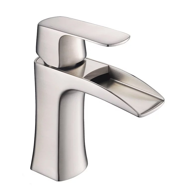 Fresca FFT3071BN Fortore Single Hole Mount Bathroom Faucet in Brushed Nickel