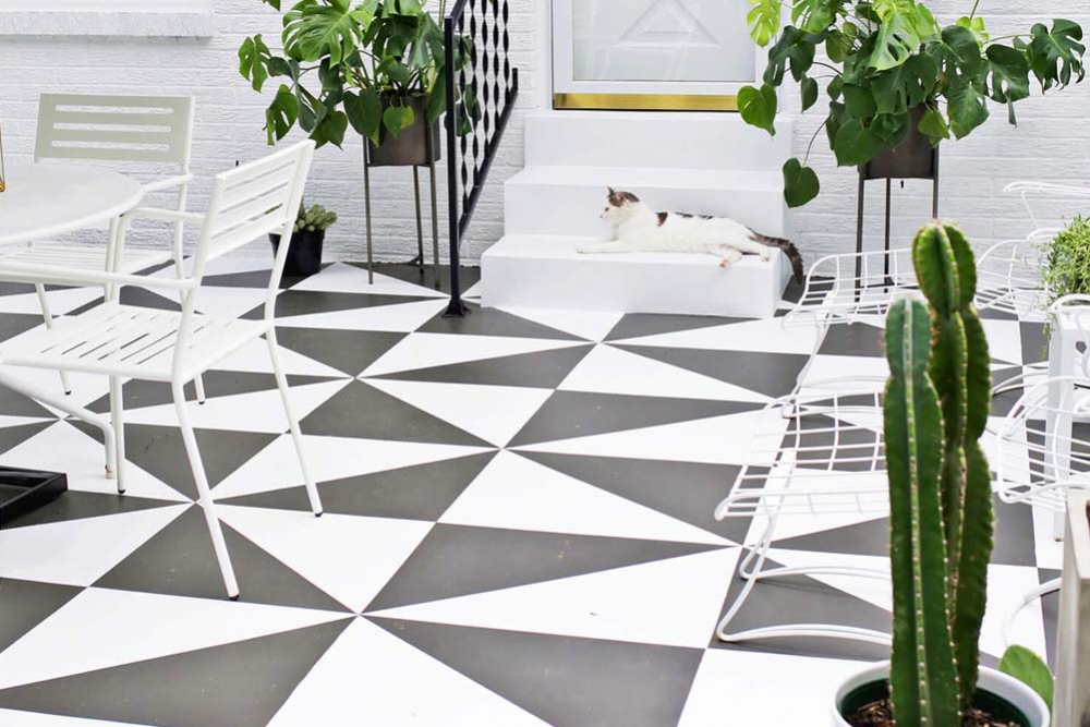 Yes, Tiles Can Be Painted! Here's How