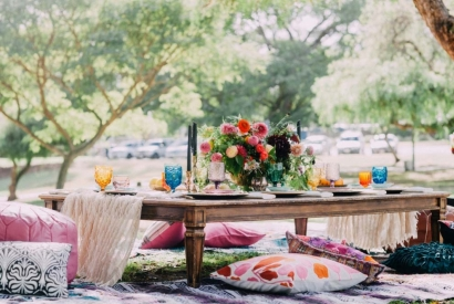 How to Plan a Boho Chic Summer Picnic